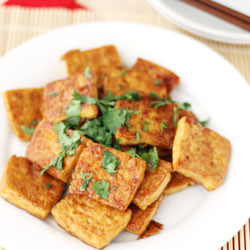 pan fried tofu thumbnail