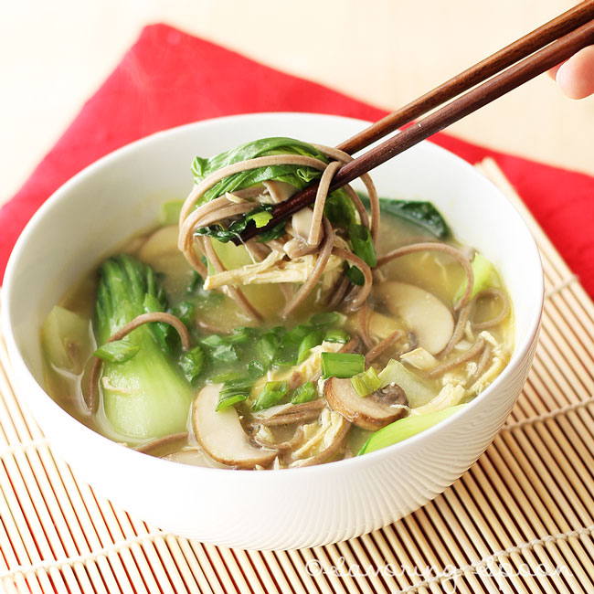 Asian chicken noodle soup savoring spoon savoring spoon chicken noodle soup 2 forumfinder Choice Image