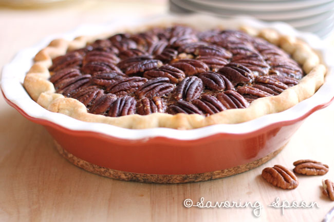 Sarah's Pecan Pie - best pecan pie recipe