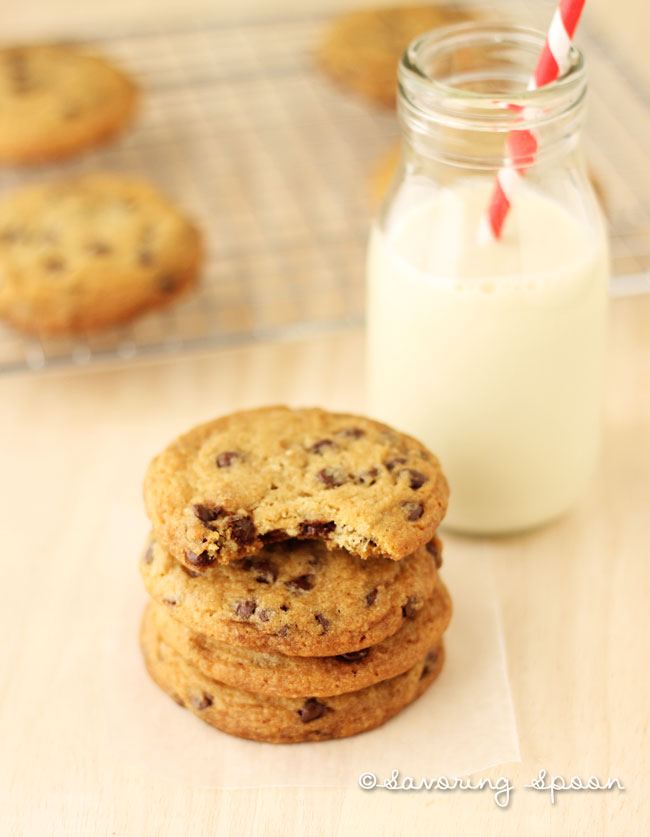 Chloe's vegan chocolate chip cookies