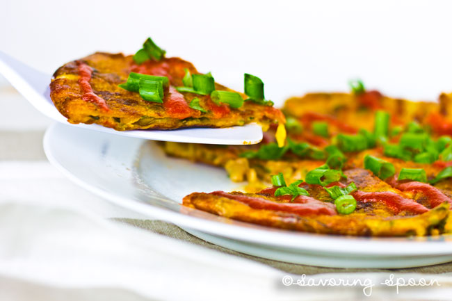 EASY, CRISPY, Pan-Fried EVERYTHING Pancakes <--Think Chinese Scallion Pancake with a facelift!