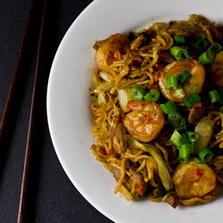 Easy Saucy Chow Mein