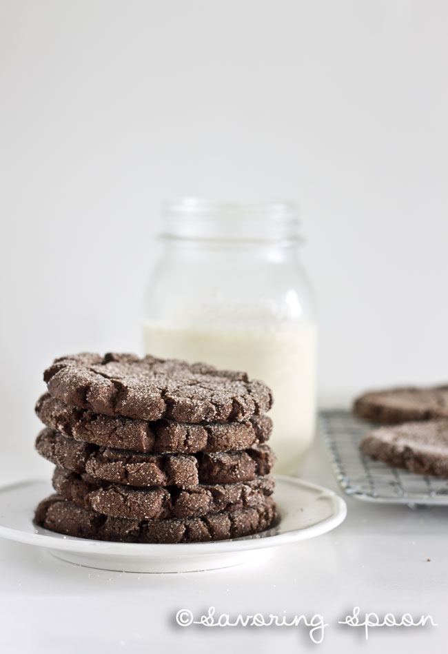 chocolate snickerdoodles