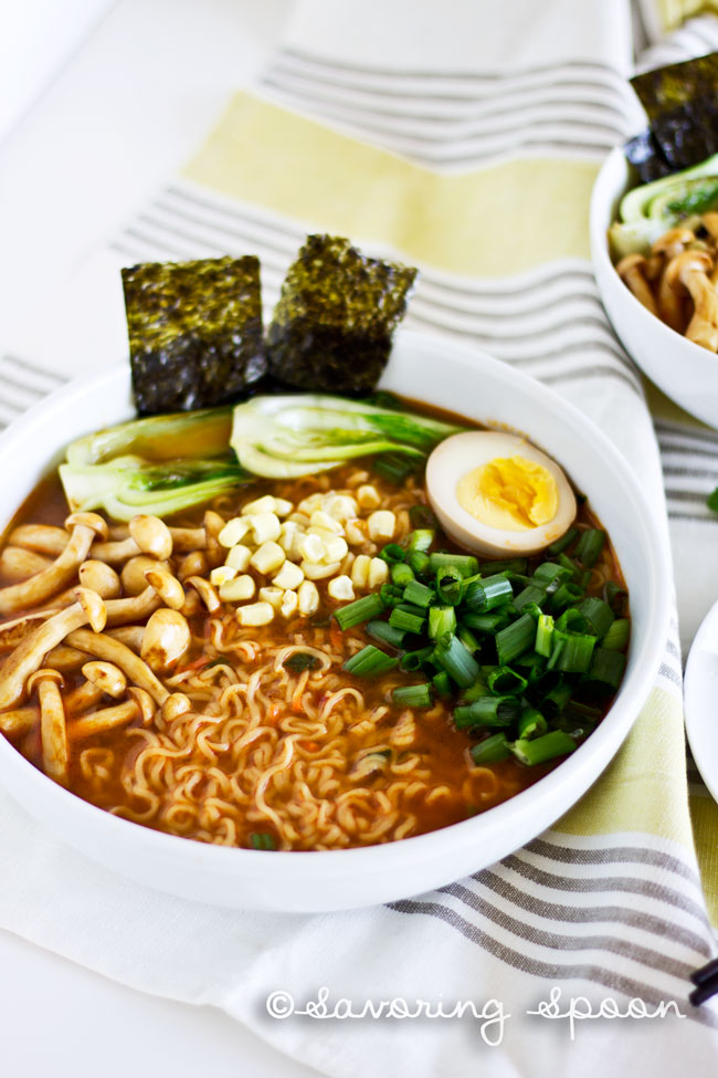 Japanese Fast Food Noodles